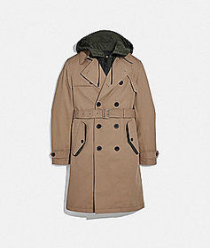Coach utility trench