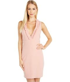 Bebe Scuba Crepe Slim Dress