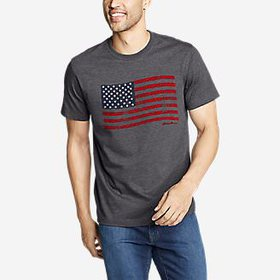 Men's Graphic T-Shirt - US Flag