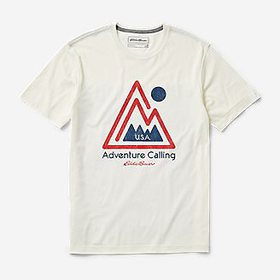 Men's Graphic T-Shirt - USA Adventure Callling