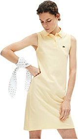 Lacoste Sleeveless Pique Polo Dress