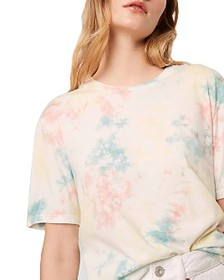 FRENCH CONNECTION - Sade Cotton Tie Dyed T-Shirt