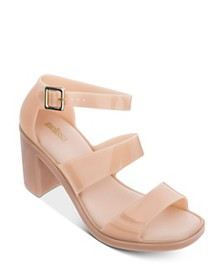 Melissa - Women's Model Block Heel Sandals
