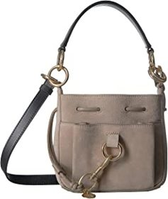 """See by Chloe See by Chloe - 8"""" Drawstring Leather"""
