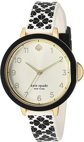 Kate Spade New York Park Row Flower Silicone Watch
