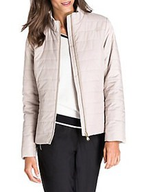 Olsen New Fusion Down-Filled Quilted Jacket DARK S