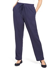Sport French Terry Ribbon Trim Pants, Created for
