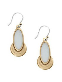 Lucky Brand Ethereal Accents Goldtone Drop Earring