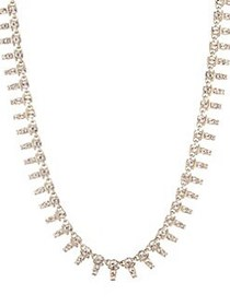 Givenchy Goldplated & Crystal Collar Necklace GOLD