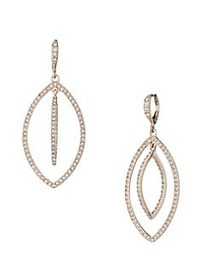 Givenchy Goldplated & Crystal Orbital Drop Earring