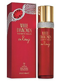 Elizabeth Taylor White Diamonds En Rouge Eau de To