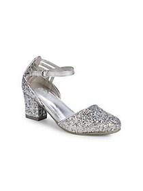 Kenneth Cole Girl's and Little Girl's Glitter Ankl