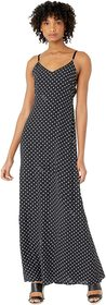 Boutique Moschino Polka Dot Maxi Dress