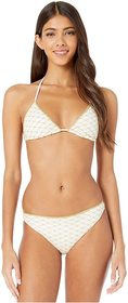 Missoni Mare Solid Rhomboid Two-Piece Bikini