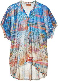Missoni Mare Pinafore Printed Cover-Up Top