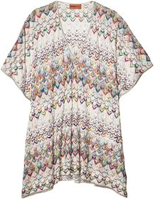 Missoni Mare Short Caftan Cover-Up Top