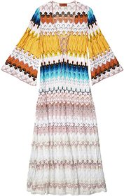 Missoni Mare Long Cover-Up Dress w/ Side Slits