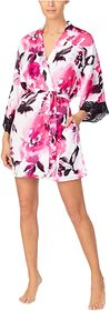 Donna Karan Charmeuse Short Robe