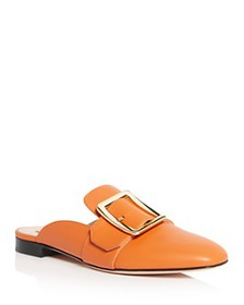 Bally - Women's Janesse Buckled Mules