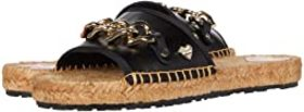 LOVE Moschino Rope Sole Chain Flat Sandal