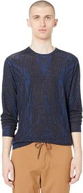 Etro Etro - Silk/Cashmere Long Sleeve Sweater. Col