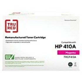 TRU RED™ HP 410A (CF413A) Magenta Remanufactured S