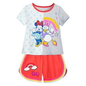 Disney Minnie Mouse and Daisy Duck T-Shirt and Sho