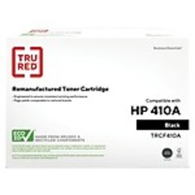 TRU RED™ HP 410A (CF410A) Black Remanufactured Sta