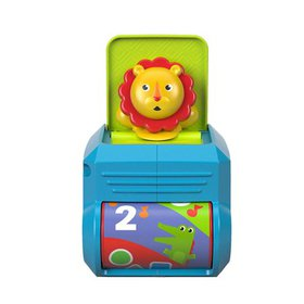 Fisher-Price Spin 'n Surprise Lion, Spin the rolle