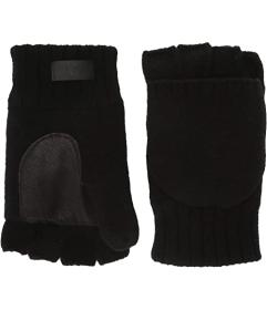 UGG Knit Flip Mitten with Tech Leather Palm and Sh