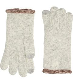 UGG Lurex Striped Knit Tech Gloves with Tech Tips