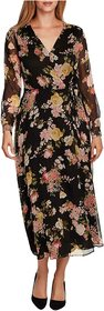 Vince Camuto Long Sleeve Beautiful Blooms Yoryu Wr