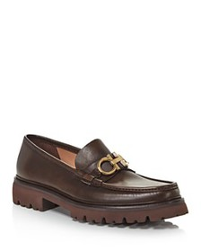 Salvatore Ferragamo - Men's Bleecker Leather Moc T