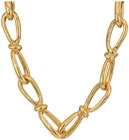 "Kenneth Jay Lane 34"" Link Chain Necklace"