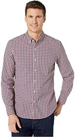 J.Crew Organic Washed Henry Check