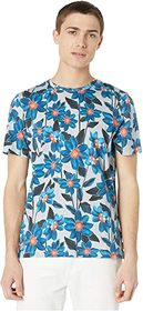 Ted Baker Feris Short Sleeve Flower Printed Tee