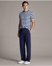 Ralph Lauren Cotton Lisle Drawstring Pant
