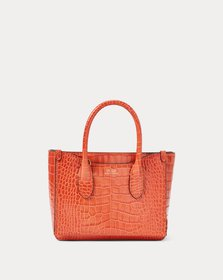 Ralph Lauren Embossed Mini Sloane Satchel