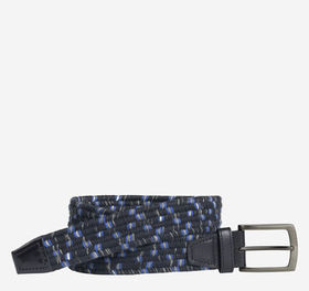 Johnston Murphy Heather Braided Belt