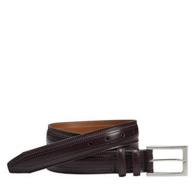 Johnston Murphy Double-Pinked Belt