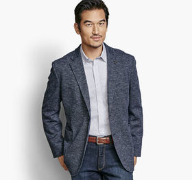 Johnston Murphy Knit Blazer