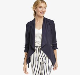 Johnston Murphy Draped Blazer