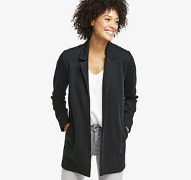 Johnston Murphy Oversized Knit Blazer