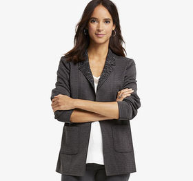 Johnston Murphy Double-Face Knit Blazer