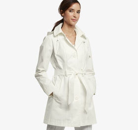 Johnston Murphy Belted Trench