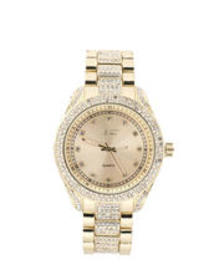 Buyers Picks 41mm fully iced out case watch