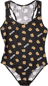Moschino All Over Bear Jersey Bodysuit