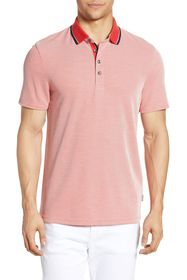 Ted Baker London Muddy Soft Touch Tipped Polo Shir