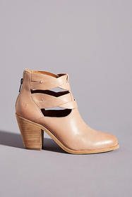 Anthropologie Frye Cameron Twist Ankle Boots