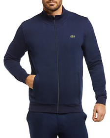 Lacoste - Cotton-Blend Fleece Full-Zip Regular-Fit